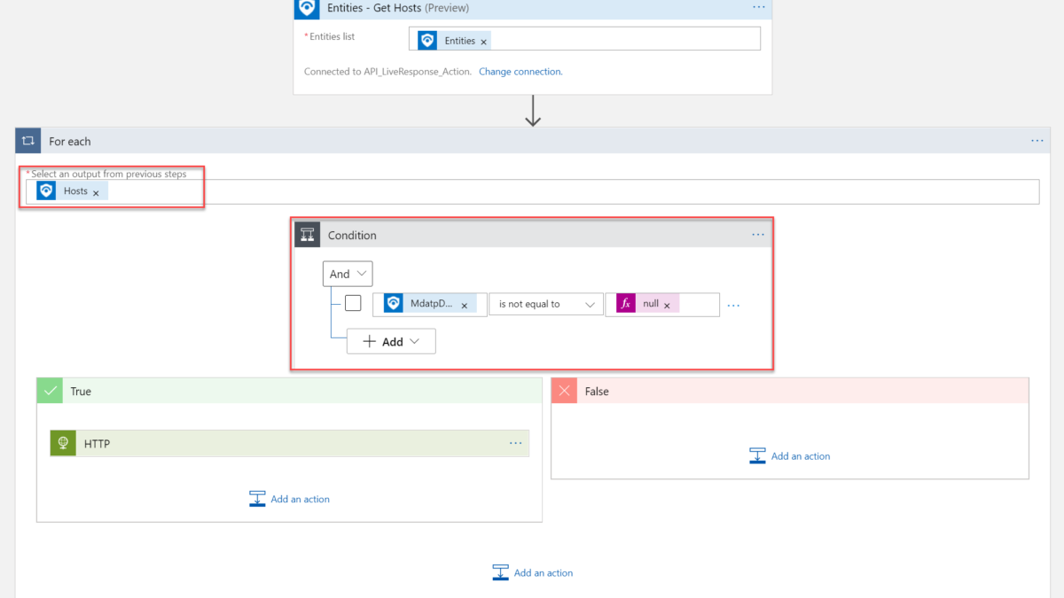Using Defender for Endpoint Live response API with Sentinel Playbooks/ Automation